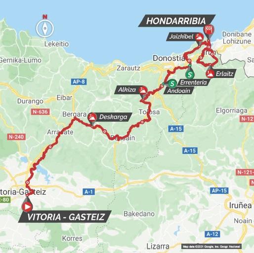 Stage 3 Gasteiz - Hondarribia