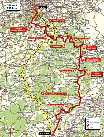 Liége - Bastogne - Liége
