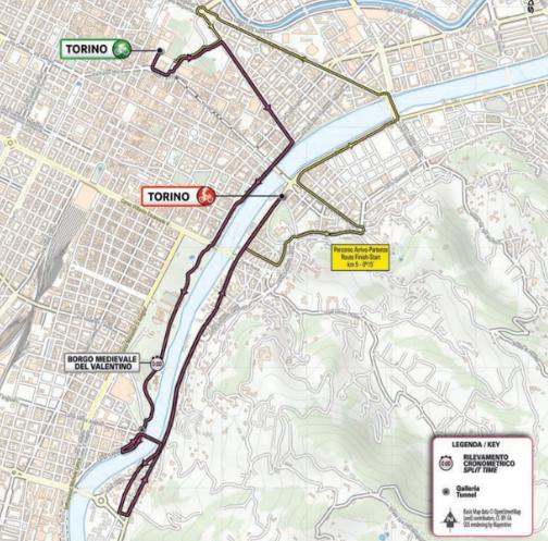 Stage 1 (ITT) Torino - Torino