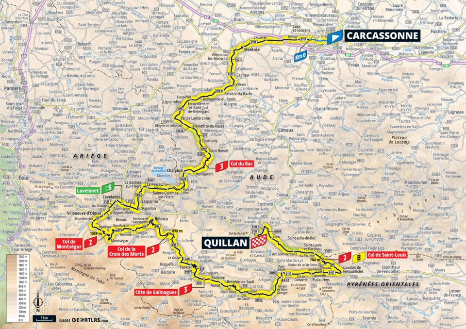 Stage 14: Carcassonne - Quillan