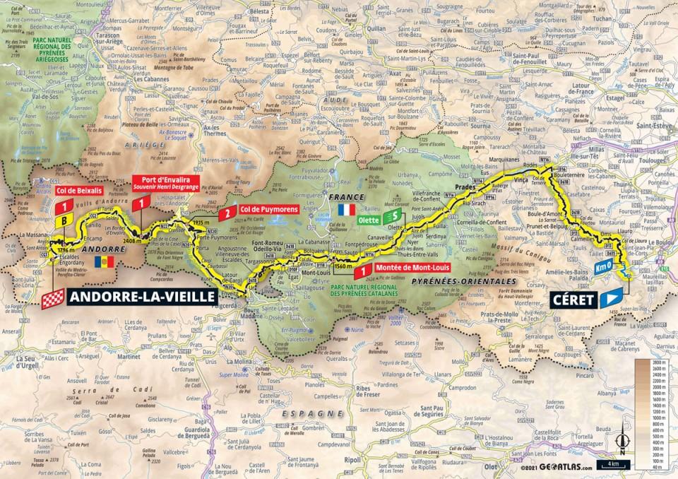 Stage 15: Céret - Andorre la Veille