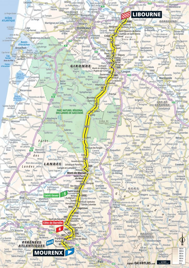 Stage 19: Mourenx - Libourne