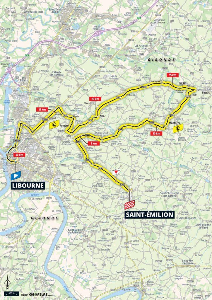 Stage 20: Libourne - Saint Emilion