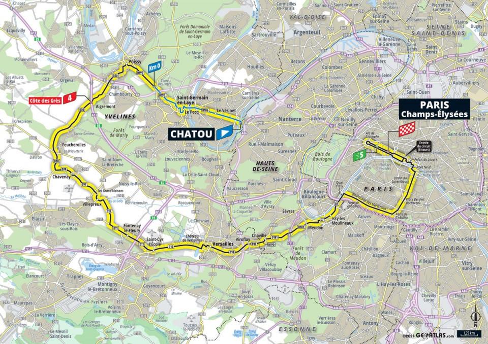 Stage 20: Chatou - Paris Champs Elysées